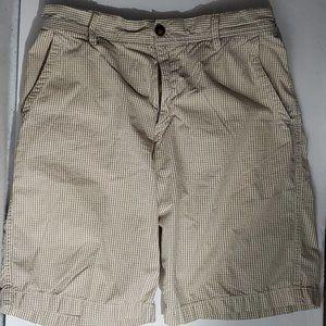Izod Size 30 Beige Pattern Men's Shorts